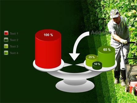 Lawn Mower PowerPoint Template Slide 10