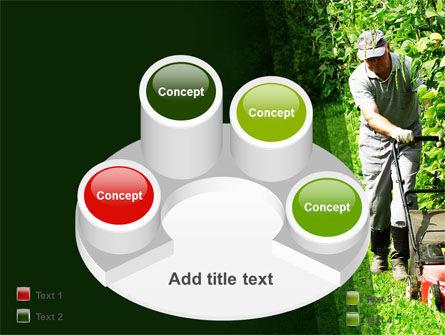 Lawn Mower PowerPoint Template Slide 12