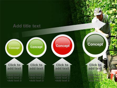 Lawn Mower PowerPoint Template Slide 13