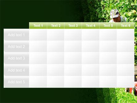 Lawn Mower PowerPoint Template Slide 15