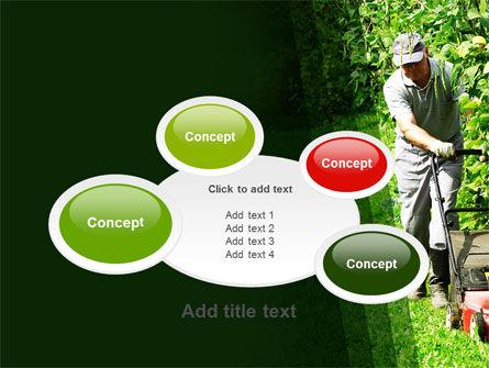 Lawn Mower PowerPoint Template Slide 16