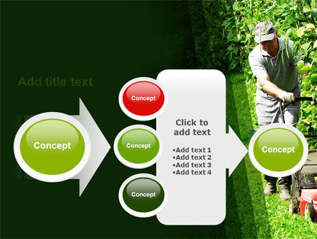 Lawn Mower PowerPoint Template Slide 17