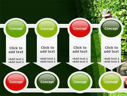 Lawn Mower PowerPoint Template Slide 18