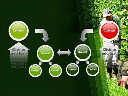 Lawn Mower PowerPoint Template Slide 19