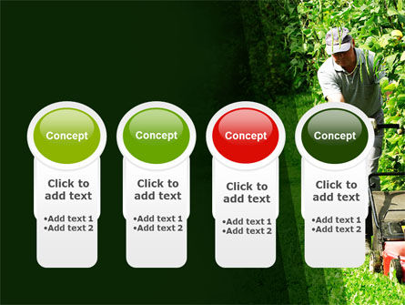 Lawn Mower PowerPoint Template Slide 5