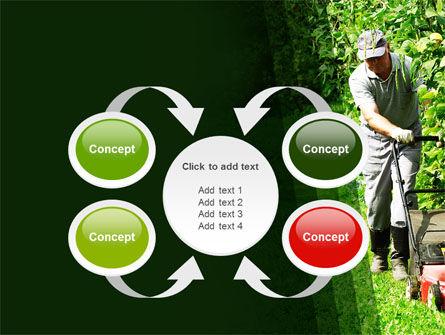 Lawn Mower PowerPoint Template Slide 6