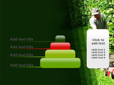 Lawn Mower PowerPoint Template Slide 8