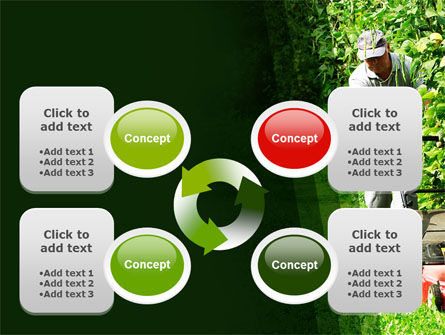 Lawn Mower PowerPoint Template Slide 9