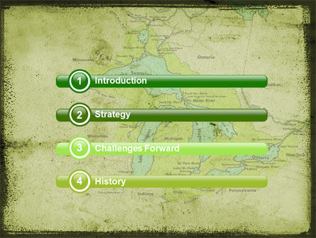 Great Lakes PowerPoint Template, Slide 3, 05403, Education & Training — PoweredTemplate.com