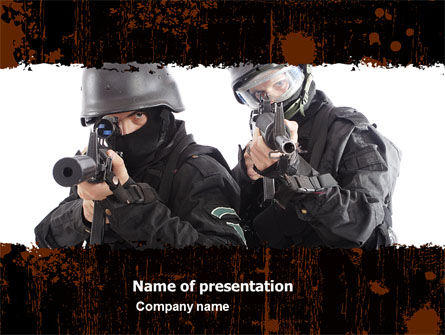 SWAT PowerPoint Template