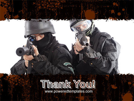 SWAT PowerPoint Template Slide 20