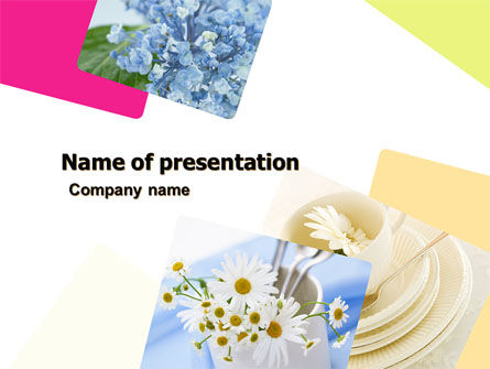 Careers/Industry: Modello PowerPoint - Tabella bouquet #05406
