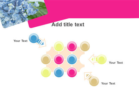 Table Bouquet PowerPoint Template Slide 10