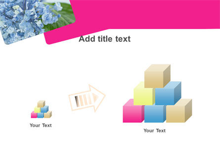 Table Bouquet PowerPoint Template Slide 13