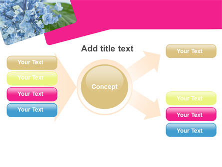Table Bouquet PowerPoint Template Slide 15