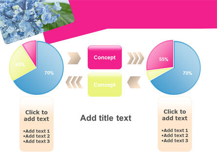 Table Bouquet PowerPoint Template Slide 16