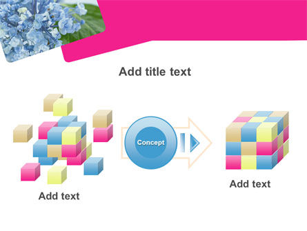 Table Bouquet PowerPoint Template Slide 17
