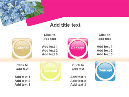 Table Bouquet PowerPoint Template Slide 18