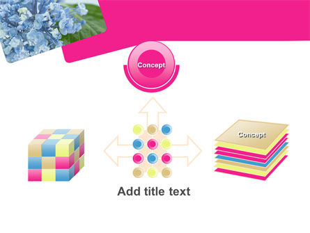 Table Bouquet PowerPoint Template Slide 19