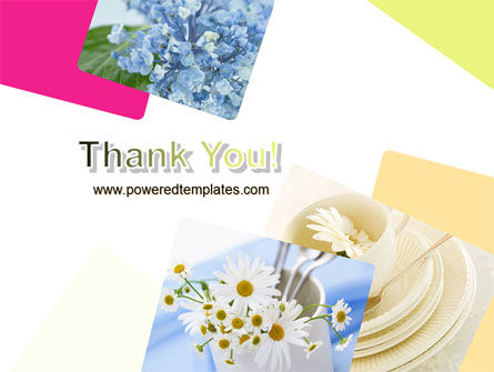 Table Bouquet PowerPoint Template Slide 20
