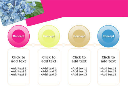 Table Bouquet PowerPoint Template Slide 5