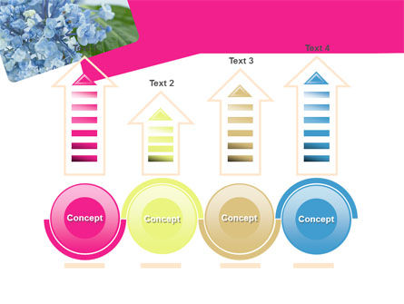 Table Bouquet PowerPoint Template Slide 7