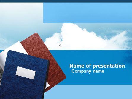Journals Free PowerPoint Template
