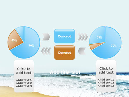 Sea Shore PowerPoint Template Slide 11