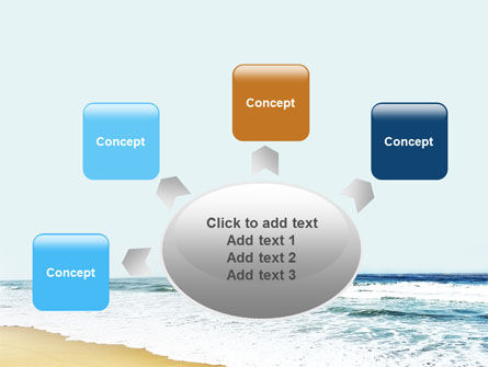 Sea Shore PowerPoint Template Slide 7