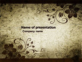 Abstract/Textures: Floral PowerPoint Template #05412