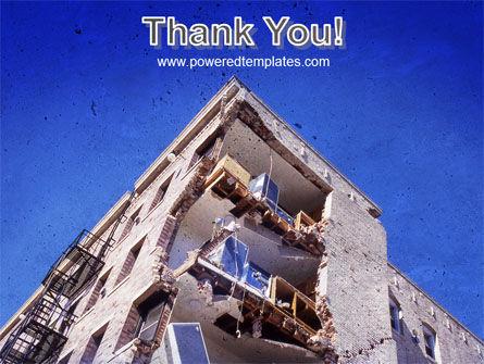 Building Damage PowerPoint Template Slide 20