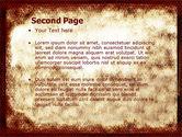 Human Development From Ape PowerPoint Template#2