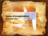 Religious/Spiritual: Holy Scripture PowerPoint Template #05416