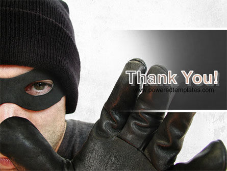 Masked Man PowerPoint Template Slide 20