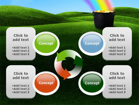 Jug of Gold PowerPoint Template Slide 9