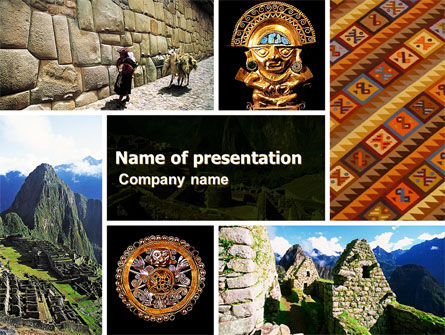 Education & Training: Inca Civilization PowerPoint Template #05422