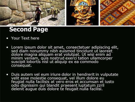 Inca Civilization PowerPoint Template Slide 2