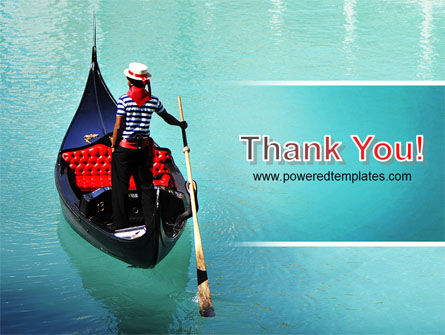 Gondola PowerPoint Template Slide 20