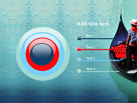 Gondola PowerPoint Template Slide 9