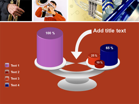 Trumpet Collage PowerPoint Template Slide 10