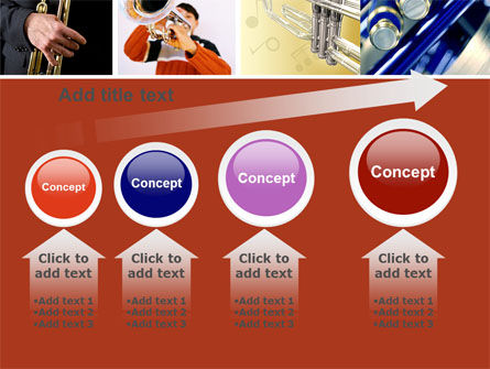 Trumpet Collage PowerPoint Template Slide 13