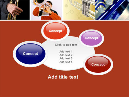 Trumpet Collage PowerPoint Template Slide 16