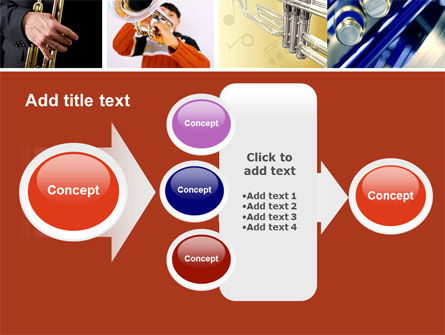 Trumpet Collage PowerPoint Template Slide 17