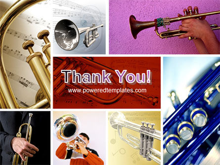 Trumpet Collage PowerPoint Template Slide 20