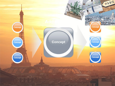 Paris In Collage PowerPoint Template Slide 17
