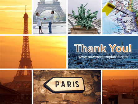 Paris In Collage PowerPoint Template Slide 20