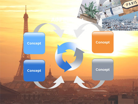Paris In Collage PowerPoint Template Slide 6