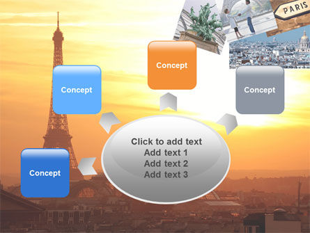 Paris In Collage PowerPoint Template Slide 7