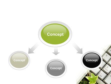 Utilization PowerPoint Template, Slide 4, 05427, Computers — PoweredTemplate.com