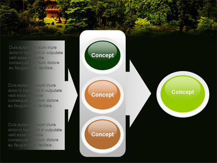 Pagoda PowerPoint Template Slide 11
